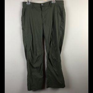 Prana women's pants sz 12 short inseam hiking
